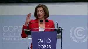Pelosi claims US is still in Paris Agreement [Video]