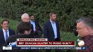 Rep. Duncan Hunter to plead guilty [Video]