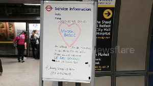 News video: 'Together we stand': London Bridge tube station shows solidarity after terror attack
