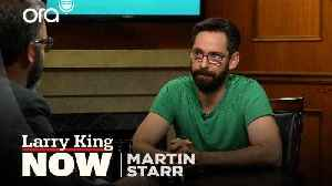 'Party Down' reunion, breaking into acting, and 'Silicon Valley' --  Martin Starr answers your social media questions [Video]