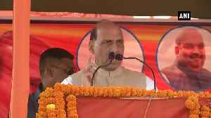No one can point fingers at BJP PM Ministers or CMs regarding corruption Rajnath Singh [Video]