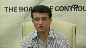 There is no need of full-time Cricket Advisory Committee Sourav Ganguly [Video]