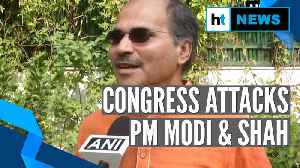 'PM Modi & Amit Shah are infiltrators': Congress' Adhir Ranjan Chowdhury [Video]