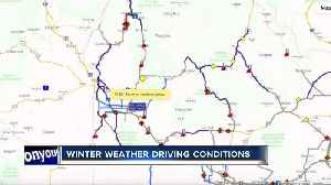 Winter weather driving conditions across the Treasure Valley [Video]