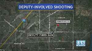 Man Arrested Following Deputy-Involved Shooting In Orangevale [Video]