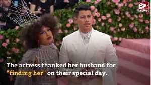 Priyanka Chopra pays tribute to Nick Jonas on first wedding anniversary [Video]