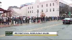 News video: Recreational marijuana sales in Michigan