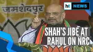Amit Shah targets Rahul Gandhi on NRC: 'Aapke chachere bhai lagte hain kya?' [Video]