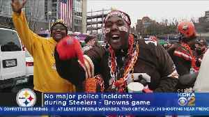 Fan Arrested For Allegedly Assaulting Officer During Steelers-Browns Game [Video]