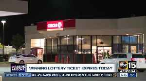 Winning lottery ticket expires Monday [Video]