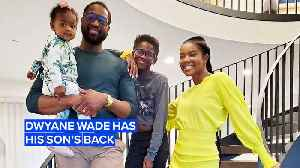 News video: Dwyane Wade defends his son against haters
