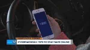 News video: How to protect yourself while you're shopping for Cyber Monday deals