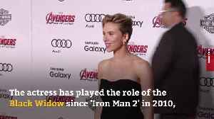 Scarlett Johansson persuaded to join Marvel by Iron Man [Video]