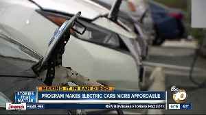 News video: Making it in San Diego: County program makes electric cars more affordable