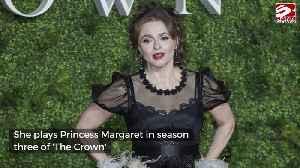 Helena Bonham Carter says royal sleepovers are a 'thrill' [Video]