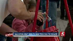 Salvation Army debuts high-tech way to help during holidays [Video]