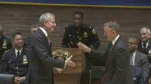 Dermot Shea Sworn In As New NYPD Police Commissioner [Video]
