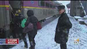 Weather Causes MBTA Delays: 'It's To Be Expected Unfortunately' [Video]