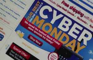 News video: Cyber Monday is on track to smash record