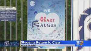 Classes Resume At Saugus High School For First Time Since Shooting [Video]
