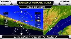 Garmin's Team Talks Autoland With Flying [Video]
