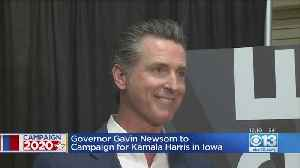 California Gov. Gavin Newsom Plans Iowa Trip To Campaign For Kamala Harris [Video]