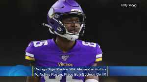 Vikings Sign Rookie WR Alexander Hollins to Active Roster; LB Ben Gedeon Placed On IR [Video]