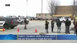 News video: Officer, Student Exchange Gunfire At Wisconsin High School