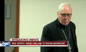 Report: Bishop Malone will resign Wednesday, will be replaced by Albany bishop [Video]
