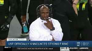 USF officially announces Charlie Strong firing [Video]