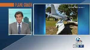 Police: Small plane crash lands near Vero Beach Regional Airport, no one hurt [Video]