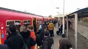 South Western Railway strike: stranded passengers at Earlsfield station in London [Video]