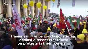 Watch: Iranians in France demonstrate against Tehran protest crackdown [Video]