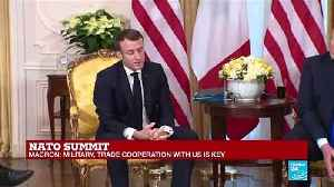 Trump to Macron: 'Would you like some ISIS fighters? I can give them to you' [Video]