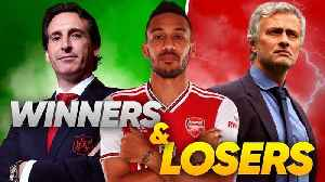 News video: Arsenal To SACK Unai Emery For Jose Mourinho After Leicester Game?! | W&L