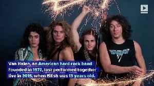Wolfgang Van Halen Speaks out in Defense of Billie Eilish [Video]