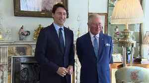 Prince Charles meets world leaders at Clarence House [Video]