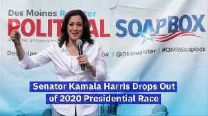 Senator Kamala Harris Drops Out of 2020 Presidential Race [Video]