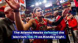 Warriors Have NBA's Worst Record After Loss to Hawks [Video]