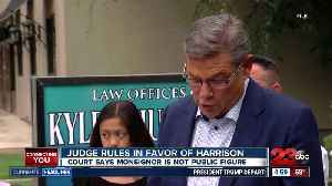 Judge rules in favor of Monsignor Harrison [Video]