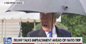 News video: Trump: The Whole Impeachment Thing Is A Hoax