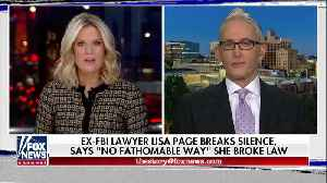 Trey Gowdy Reacts To Lisa Page As She Breaks Her Silence [Video]