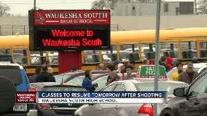 A student with a gun was shot inside of a classroom at Waukesha South High School on Monday [Video]