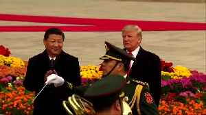News video: Stocks fall as Trump signals delay in China trade deal