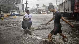 News video: Typhoon Forces Mass Evacuations In The Philippines