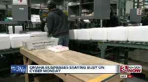 Omaha businesses staying busy on Cyber Monday [Video]