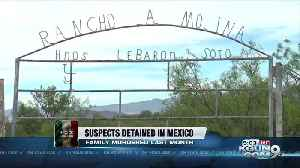 News video: Authorities arrest suspects in family massacre in Mexico