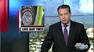 Long wait times at port of entries in Nogales [Video]