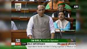 Act has brought shame to entire country' Rajnath Singh on Hyderabad rape murder case [Video]