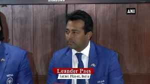 Have lived my career playing for country Leander Paes [Video]